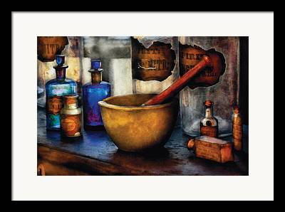 Medicinal Framed Prints