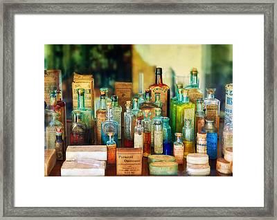Pharmacist - Whatever Ails Ya - II Framed Print by Mike Savad