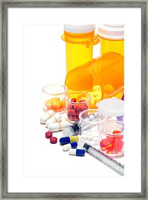 Pharmacopoeia  Framed Print by Olivier Le Queinec