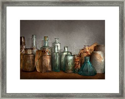 Pharmacy - Doctor I Need A Refill  Framed Print by Mike Savad