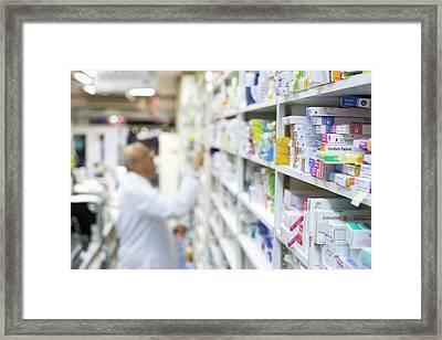 Pharmacy Framed Print