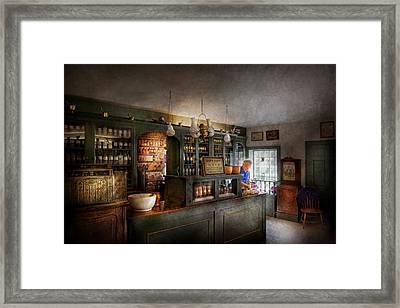 Pharmacy - Morning Preparations Framed Print