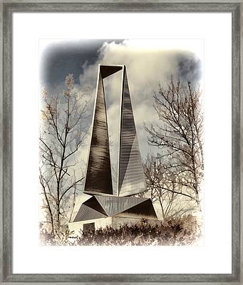 Phase I Framed Print by Phyllis Taylor