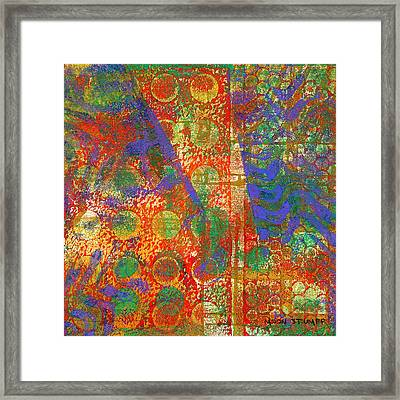 Phase Series - Next Framed Print by Moon Stumpp