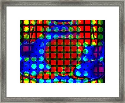 Phases Framed Print by Kelly McManus