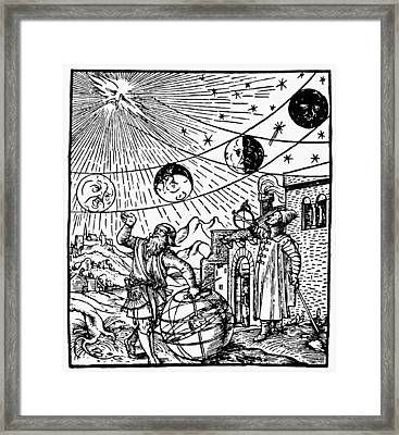 Phases Of The Moon, 1534 Framed Print