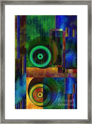 Phases Framed Print by Sydne Archambault