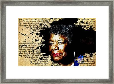 Phenomenal Woman Framed Print by The DigArtisT