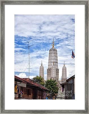 Phetchaburi Temple 02 Framed Print