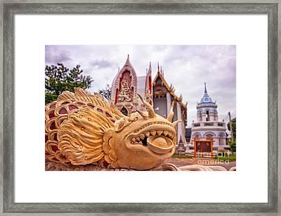 Phetchaburi Temple 04 Framed Print
