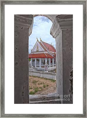 Phetchaburi Temple 08 Framed Print