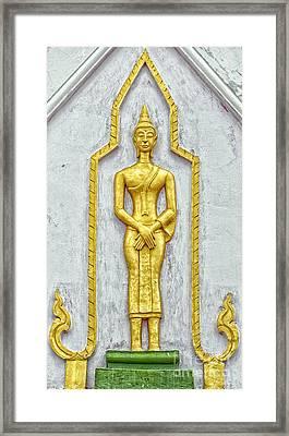 Phetchaburi Temple 11 Framed Print