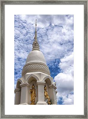 Phetchaburi Temple 16 Framed Print
