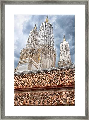 Phetchaburi Temple 18 Framed Print