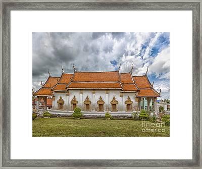 Phetchaburi Temple 21 Framed Print