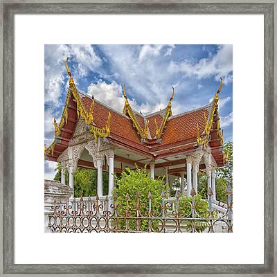 Phetchaburi Temple 22 Framed Print