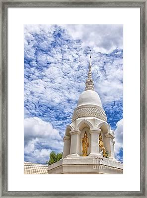 Phetchaburi Temple 24 Framed Print