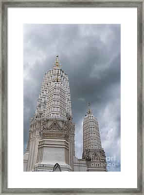 Phetchaburi Temple 26 Framed Print