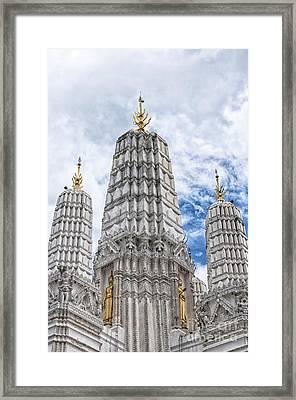 Phetchaburi Temple 31 Framed Print