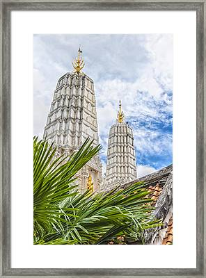 Phetchaburi Temple 33 Framed Print