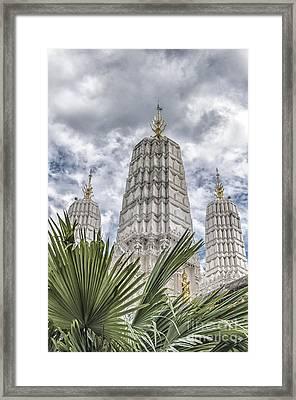 Phetchaburi Temple 34 Framed Print