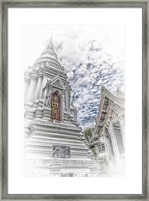 Phetchaburi Temple 36 Framed Print