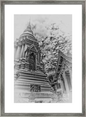 Phetchaburi Temple 37 Framed Print