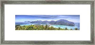 Phi Phi Island Framed Print by Alex Dudley