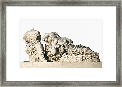 Phidias 490 -431 Bc. Figures Of 3 Framed Print by Everett