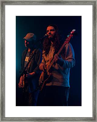 Framed Print featuring the photograph Phil And Steve by David Stine