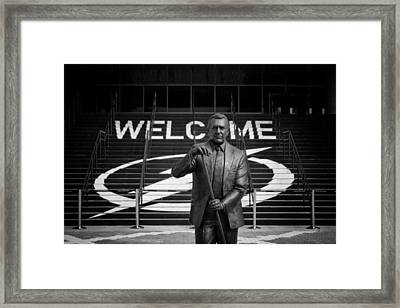 Phil Esposito Says Framed Print