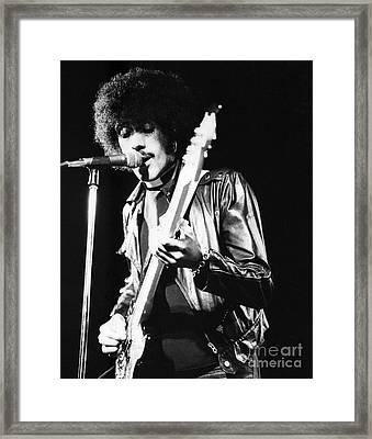 Phil Lynott Framed Print by David Fowler