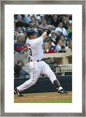 Framed Print featuring the photograph Phil Nevin by Don Olea