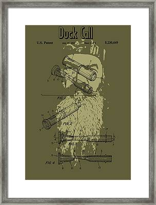 Phil Robertson's Duck Call Framed Print by Dan Sproul
