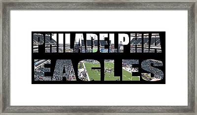 Philadelpha Eagles Framed Print by Tom Gari Gallery-Three-Photography