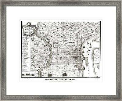 Philadelphia - Pennsylvania - United States - 1875 Framed Print by Pablo Romero
