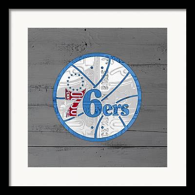 Philadelphia 76ers Framed Prints