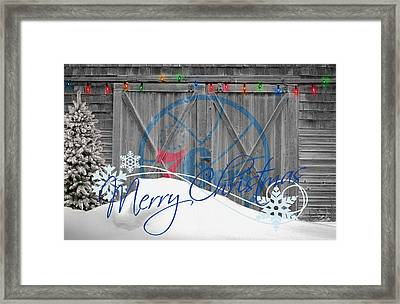 Philadelphia 76ers Framed Print by Joe Hamilton