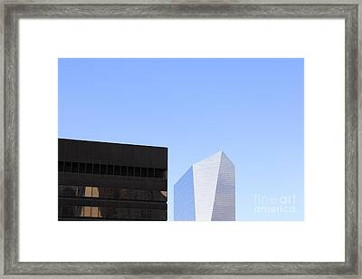 Philadelphia Abstract Framed Print by Neil Overy