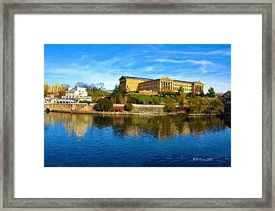 Philadelphia Art Museum  2009 Framed Print by Bill Cannon