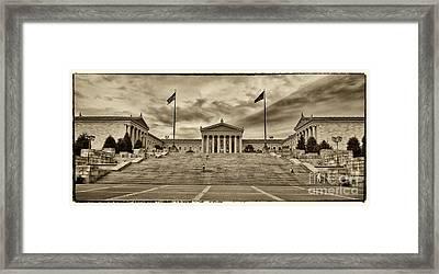Philadelphia Art Museum 4 Framed Print by Jack Paolini