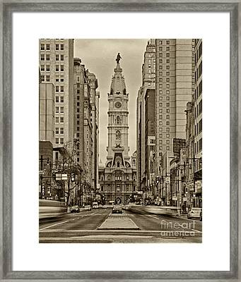Philadelphia City Hall 2 Framed Print