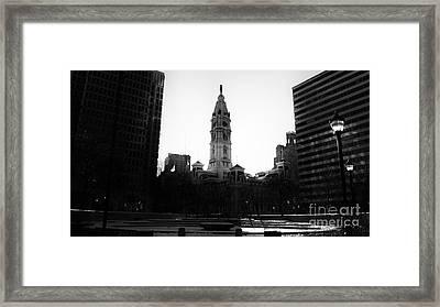 Philadelphia City Hall Framed Print by Douglas Barnard