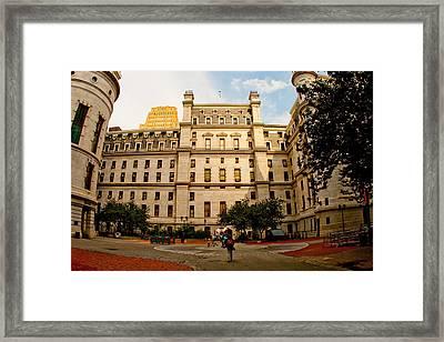 Philadelphia City Hall Framed Print