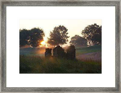 Philadelphia Cricket Club At Sunrise Framed Print by Bill Cannon