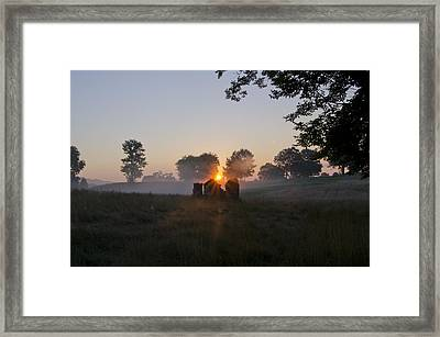 Philadelphia Cricket Club Sunrise Framed Print