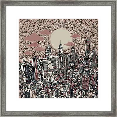 Philadelphia Dream 3 Framed Print by Bekim Art