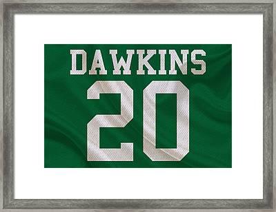 Philadelphia Eagles Brian Dawkins Framed Print