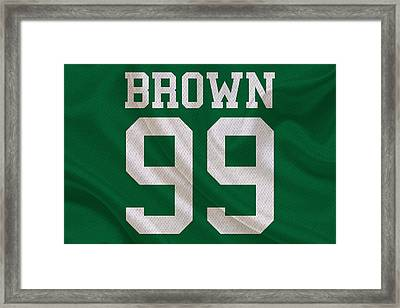 Philadelphia Eagles Jerome Brown Framed Print