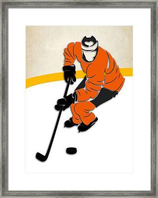 Philadelphia Flyers Rink Framed Print by Joe Hamilton